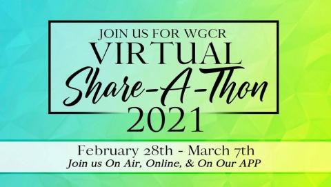 WGCR Share-A-Thon 2021 Promo